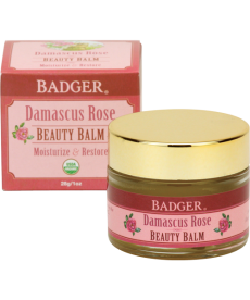 BADGER DAMASCUS ROSE BEAUTY BALM / GÜL GÜZELLİK BALMI 28gr