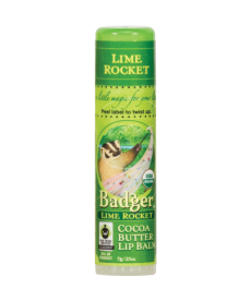 BADGER LIME ROCKET COCOA BUTTER LIP BALM / LIME (YEŞIL LIMON) VE KAKAOLU DUDAK BALMI 7gr