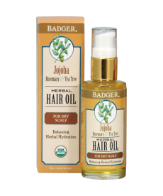 BADGER JOJOBA HERBAL HAIR OIL / KURU SAÇ DERİSİ İÇİN SAÇ YAĞI 59.1 mL