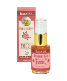 BADGER DAMASCUS ROSE FACE OIL / YÜZ BAKIMI GÜL YAĞI  29.5ml