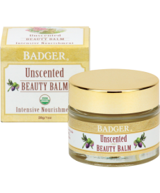 BADGER UNSCENTED BEAUTY BALM / BADGER KOKUSUZ GÜZELLİK BALMI 28gr