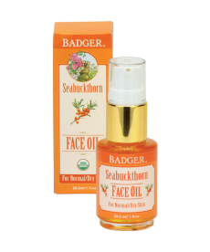 BADGER SEABUCKTHORN FACE OIL / SEABUCKTHORN YÜZ BAKIM YAĞI