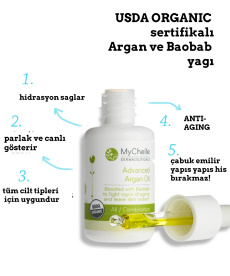 Advanced Argan Oil / Organik Argan Yağı