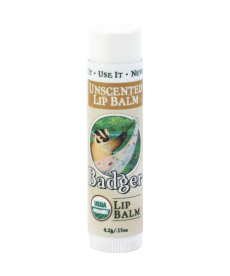 Badger Lip Balm Unscented / Sade Dudak Balmı